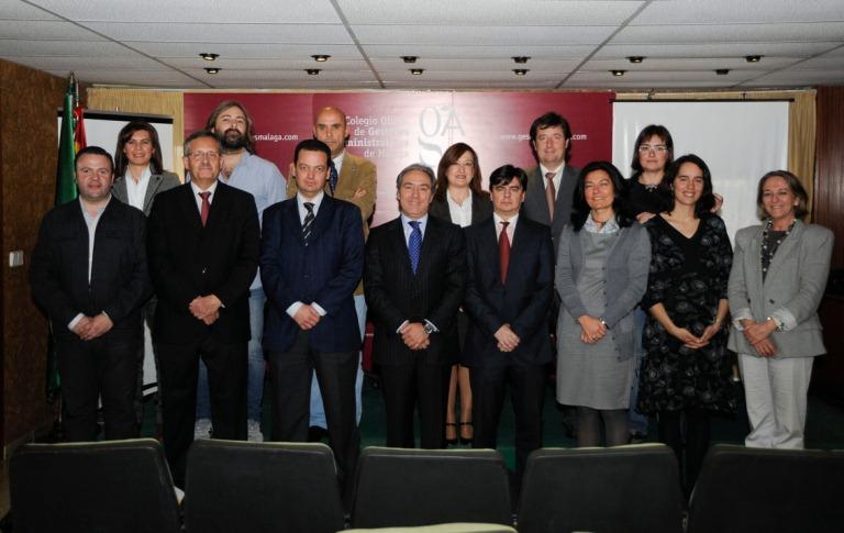 La Junta aprueba los Estatutos del Colegio de Gestores Málaga
