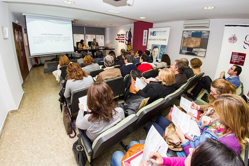 Sesión informativa para los nuevos gestores administrativos